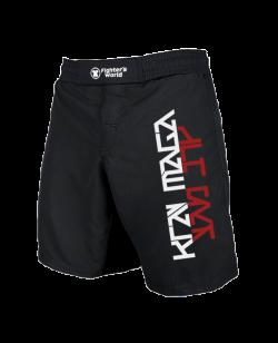 Krav Maga MMA Fightshorts schwarz/rot