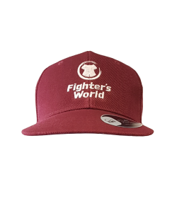FIGHTERSWORLD SnapBack Cap bordeaux Prämienartikel