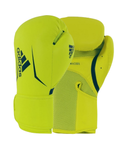 adidas Boxhandschuhe Speed 100 gelb/blau adiSBG100