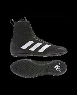 adidas Speedex 18 Boxschuh schwarz weiss
