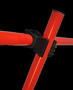 Stangenverbinder-Set für Markierungskegel, drehbar - 10 Stk.