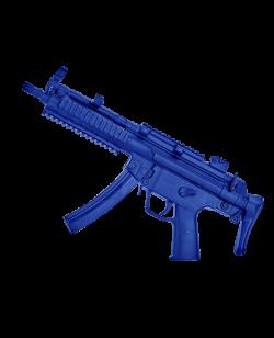 FW Trainingswaffe Sturmgewehr MP5 blau 49 cm