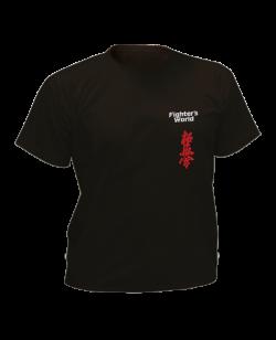 T-Shirt Kyokushinkai schwarz mit Bestickung