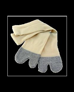 Tabi Socken Baumwoll Mischgewebe beige oneszie