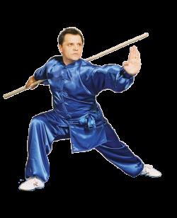 KungFu TaiChi  Anzug blaue Seide
