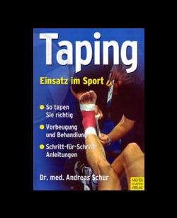 Buch, Taping - Einsatz im Sport, Dr. Andreas Schur