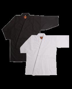 Tengu Set Tetron - Iaigi schwarz & Shitagi weiß