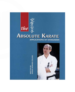 Buch, The Absolute Karate- Kyokushinkai  Howard Collins, english