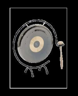 Tischgong rund Durchmesser ca.18cm Rundengong