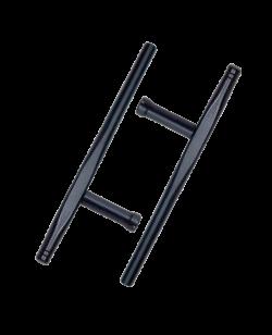 FW Tonfa Holz schwarz  1Paar (2 Stk.)