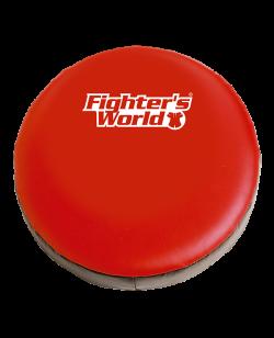 FW Round Mitt Schlagpolster 30 x 9 cm rot/schwarz