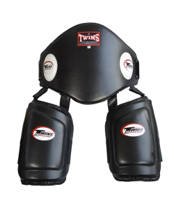 TWINS Belly and Thigh Protector Bauch und Lowkick Trainer one size