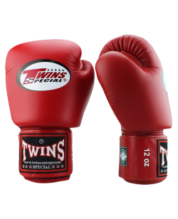 FW Twins Boxhandschuhe Pro Velcro Special Edition rot