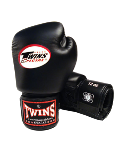Twins Boxhandschuhe Pro Velcro schwarz