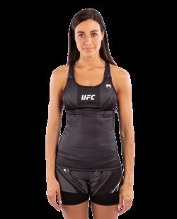 UFC Venum Authentic Fight Night Damen TankTop mit BH schwarz VNMUFC-00012-001