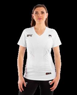 UFC Venum Authentic Fight Night Damen Walkout Jersey weiß VNMUFC-00021-002
