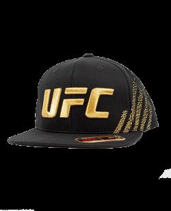 UFC Venum Authentic Fight Night Unisex Walkout Hat Champion schwarz/gold