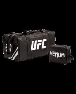 UFC Venum Authentic Fight Week Trainings Ausrüstungstasche schwarz