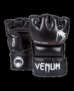 Venum Impact MMA Gloves schwarz Skintex 0123 L