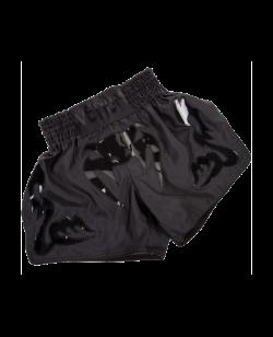 Venum Bangkok Inferno Muay Thai Shorts matt schwarz 2040-MT-BC