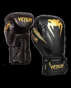 Venum Impact Boxhandschuhe gold/schwarz 03284-126