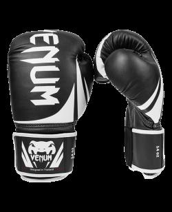 """Venum """"Challenger 2.0"""" Boxhandschuhe schwarz/weiß 0661 10oz"""