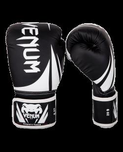 Venum Challenger 2.0 Kinderboxhandschuhe schwarz/weiß 03089-001