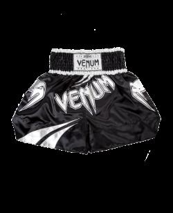 "Venum Muay Thai Short ""Channah"" Gr. L schwarz/silber 1116 L"