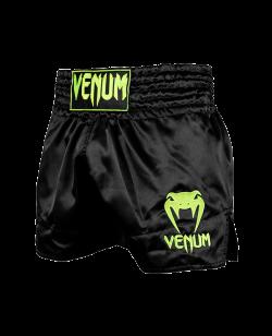 Venum CLASSIC Muay Thai Short schwarz/neon gelb 03813-116