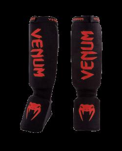 Venum Kontact Shinguards Schienbein Ristschutz schwarz-rot 0480-100