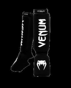 Venum Kontact Shinguards Schienbein Ristschutz schwarz-weiß 0480