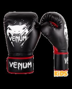 Venum Contender Kinderboxhandschuhe schwarz/rot 02822-100