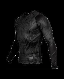 Venum Devil Rashguard Langarm schwarz 03621-114