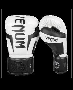Venum ELITE Boxhandschuhe weiß/camo 1392-053