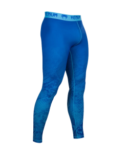 Venum Fusion Compression Spats MMA Hose lang blau  2077-BU