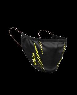Venum Gesichtsmaske schwarz/neon gelb 04187-116