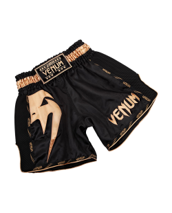 Venum Giant Muay Thai Shorts schwarz/gold 03343-126