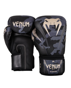 Venum Impact Boxhandschuhe Dark Camo/Sand 03284-497