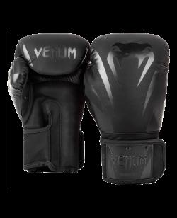 Venum Impact Boxhandschuhe black/black 03284-130
