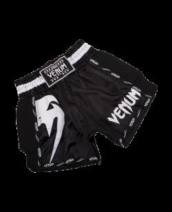 Venum Giant Muay Thai Shorts weiß/schwarz 03343-108