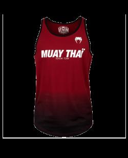 Venum Muay Thai VT Tank Top rot/schwarz 03816-199