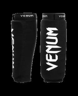 Venum Kontact Schienbeinschützer schwarz/weiß 0481