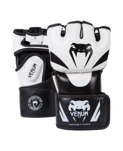 Venum Attack MMA Gloves S weiss Skintex 0681 S