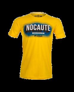 Venum Nocaute T-Shirt gelb 1376