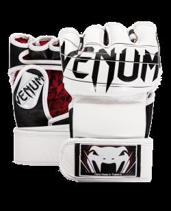 Venum Undisputed 2.0 MMA Handschuhe weiß Nappa Leder 1393