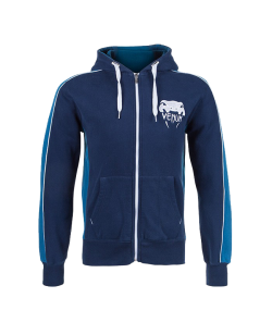 Venum Hoodie Elite Navy M blau 0837 M