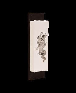 Wandmakiwara Dragon , Canvas 40 x12cm