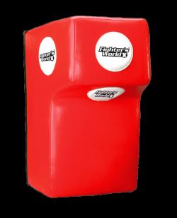FW UFG Wandschlagpolster Original Thaistyle Leder rot