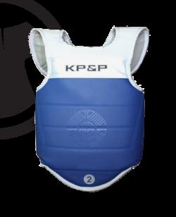 KP&P adidas elektronische Schutzweste, blau EBP