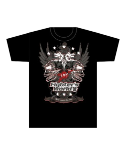 FW MMA T-Shirt WINGS schwarz the Ultimat Fighting Gear